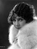 Viola Dana Posed in Fur Garment
