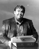 John Candy Posed in Coat