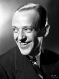 Fred Astaire Happy in Suit