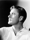 Errol Flynn Looking Up Portrait
