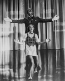 Al Jolson Performing on Stage