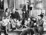Marx Brothers in Movie Scene