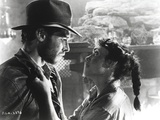 Harrison Ford Stares to a Lady