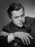 Orson Welles Posed in Tuxedo