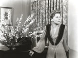 Joan Fontaine Leaning Portrait