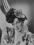 Susan Hayward Posed in Kimono