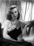 June Allyson Seated in Classic