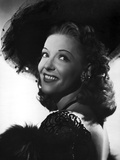 Vivian Blaine smiling and posed