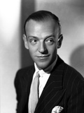 Fred Astaire smiling in Tuxedo
