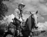 Roy Rogers Riding on a Horse