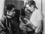 James Dean Kissing in Classic