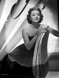 Myrna Loy Seated in Tube Dress