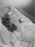 Susan Hayward Posed in a Couch