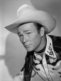 Roy Rogers Posed in Portrait
