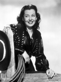 Gail Russell Posed in Classic