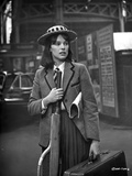 Sandy Dennis Posed in Classic