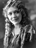 Mary Pickford on a Curling Hair