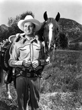 Gene Autry smiling in Photo