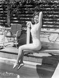 Susan Hayward in a Swimsuit