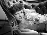 Anne Baxter Lying and posed