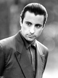 Andy Garcia Posed in Suit