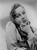 Susan Hayward Posed in Veil