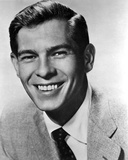 Johnnie Ray Posed in Suit