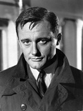 Robert Vaughn in Black Suit