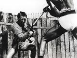 Kirk Douglas Fighting Scene
