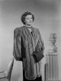 Myrna Loy Posed in Robe