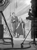 On the set of Waterfront