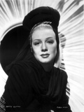 Betty Hutton on a Dark Top