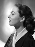 Ann Blyth Sideview Portrait