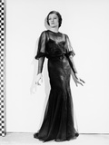 Myrna Loy in Black Dress
