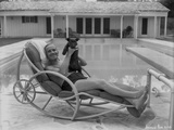 Al Jolson at the Pool