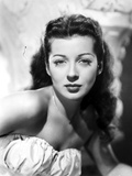 Gail Russell Posed in White