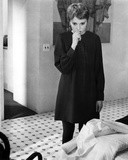 Mia Farrow Posed in Classic