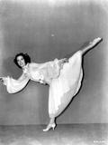 Eleanor Powell on a Dress