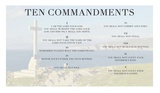 Ten Commandments - Cross