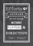 Efforts & Courage