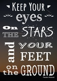 Keep Your Eyes On the Stars- Theodore Roosevelt