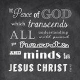 The Peace of God - black
