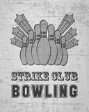 Strike Club Bowling - Gray