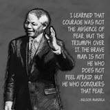 He Who Conquers - Nelson Mandela Quote