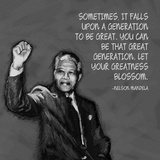 Greatness - Nelson Mandela Quote