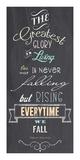 The Greatest Glory - Nelson Mandela Quote