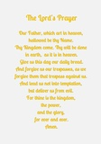 The Lord's Prayer - Gold