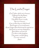 The Lord's Prayer - Red