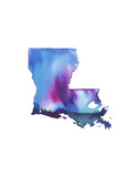 Louisiana State Watercolor