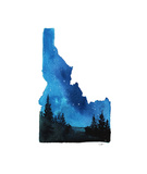 Idaho State Watercolor
